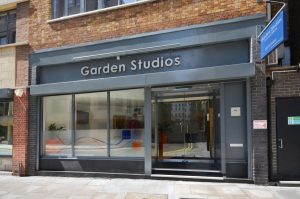 Covent Garden Garden Studios entrance